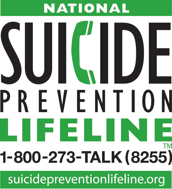Suicide Prevention Lifeline Badge